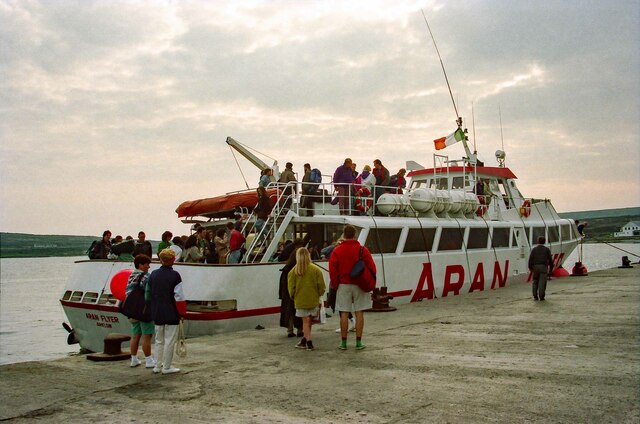 Departing on the Aran Flyer - May 1994