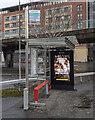 J3474 : Covid advert, Belfast by Rossographer