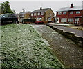 ST3090 : Snowy Pinewood Close, Malpas, Newport by Jaggery
