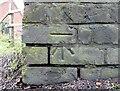 NY4754 : Benchmark, Corby Gates Signal Box by Adrian Taylor