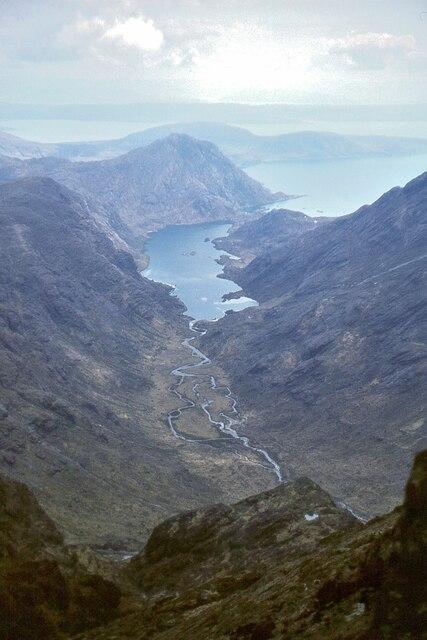 Loch Coruisk from Sgurr a' Mhadaidh by Jim Barton