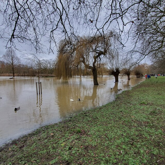 The Great Ouse in Flood - Boxing Day 2020