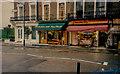 TQ2680 : Shops on Craven Road, London, 1995 by Humphrey Bolton