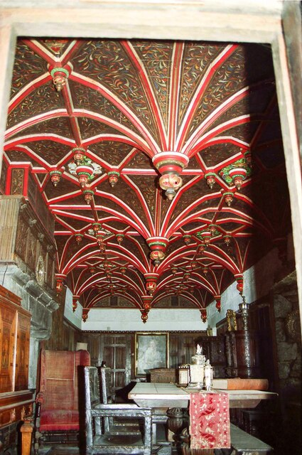 Inside Bunratty Castle - May 1994