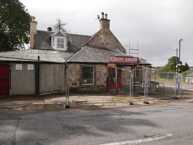 Croy Shop closed by Craig Wallace