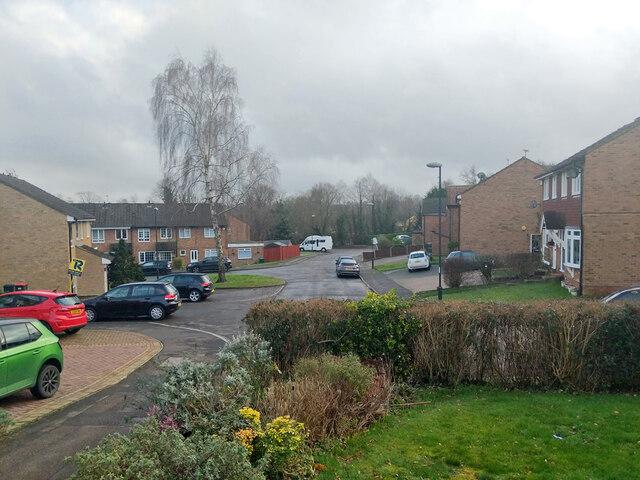 Hocken Mead, Pound Hill, Crawley by Robin Webster