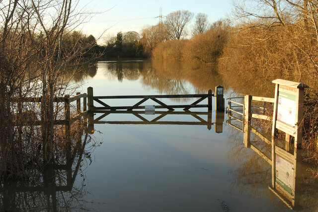 Girton Grasslands - flooded