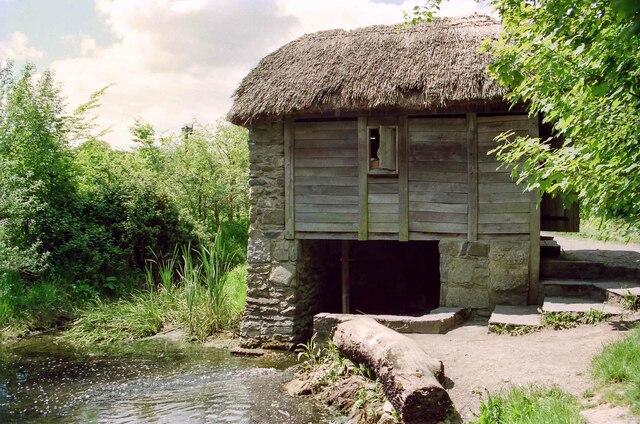 Horizontal Mill at Bunratty Folk Park - May 1994