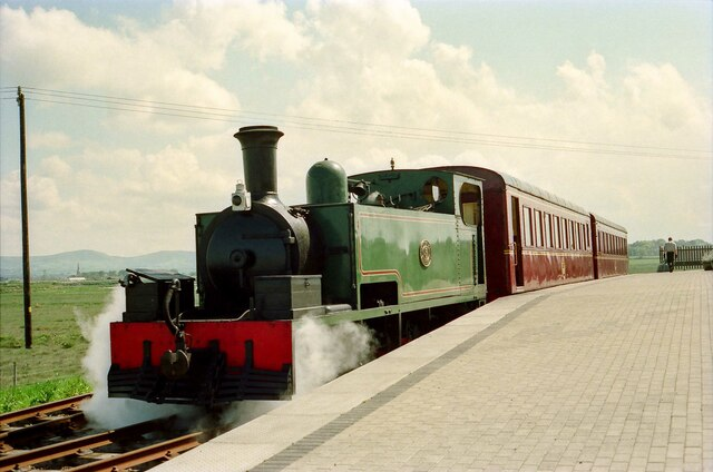 Tralee and Dingle Light Railway 5 at Blennerville - May 1994