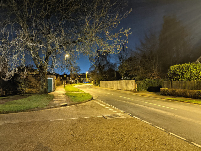 Grattons Drive, Pound Hill, Crawley by Robin Webster