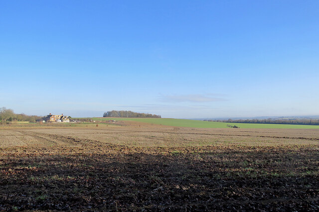 Lodge Farm and a long view