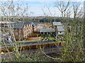 ST5393 : New housing being built on old shipyard site in Chepstow by Ruth Sharville