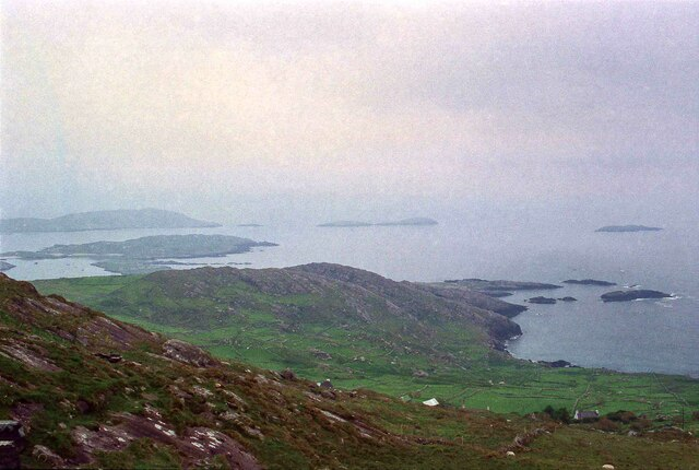 View from the Ring of Kerry Lookout - June 1994