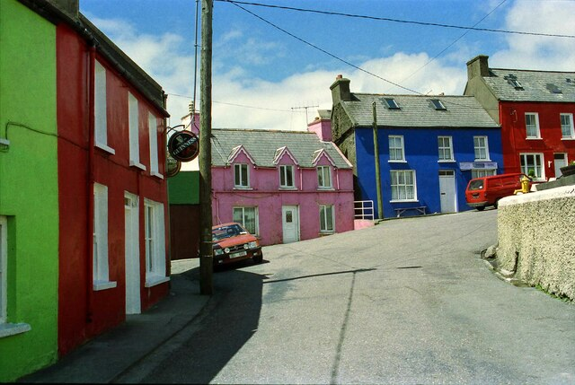Multicoloured Houses of Eyeries - June 1994