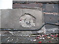 SO7192 : Remains of benchmark, West Castle Street by Adrian Taylor
