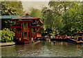 TQ2883 : Feng Shang Princess Floating Chinese Restaurant, Regent's Canal by Humphrey Bolton