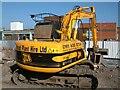 SJ9494 : JCB Digger at work by Gerald England