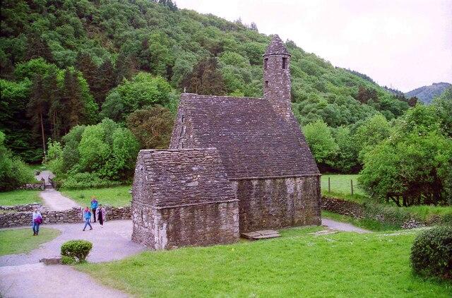 Saint Kevin's Church and Tower at Glendalough