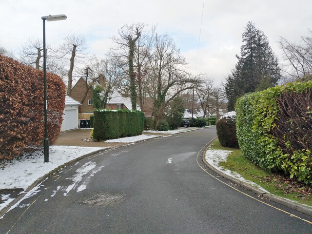 Mount Close, Pound Hill, Crawley by Robin Webster