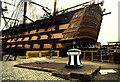 SU6200 : Portsmouth Historic Dockyard - HMS Victory and a capstan by Chris Allen