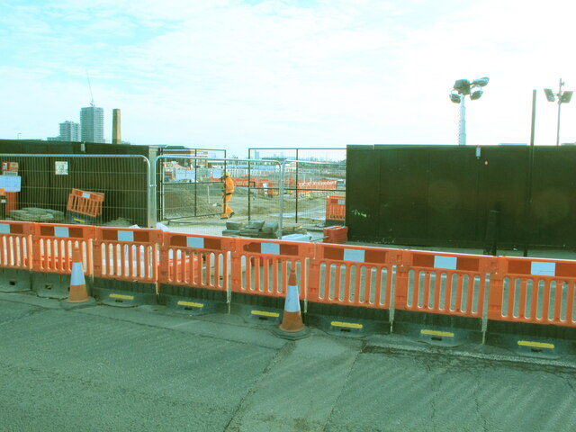 HS2 Victoria Road Crossover Box works, Chase Road