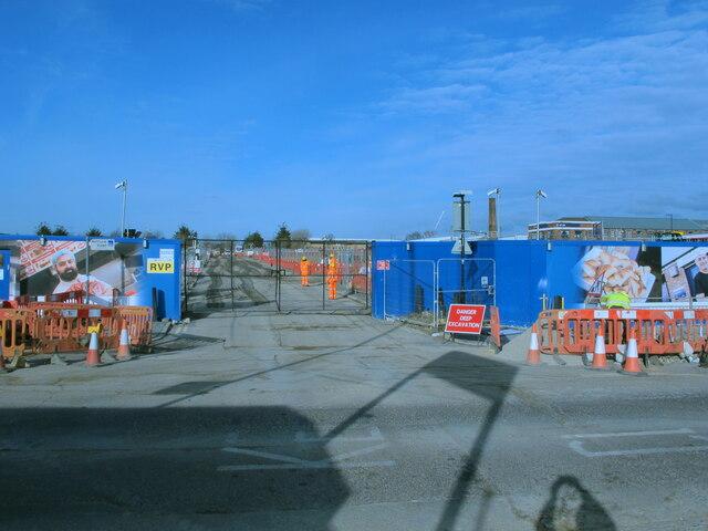 HS2 Victoria Road Crossover Box, Victoria Road entrance