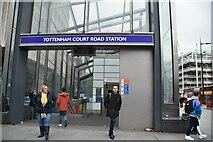 TQ2981 : Tottenham Court Road Station by N Chadwick
