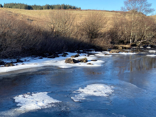 Ice on the River Snizort