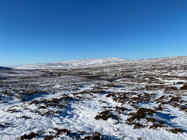 Moorland west of the Quiraing