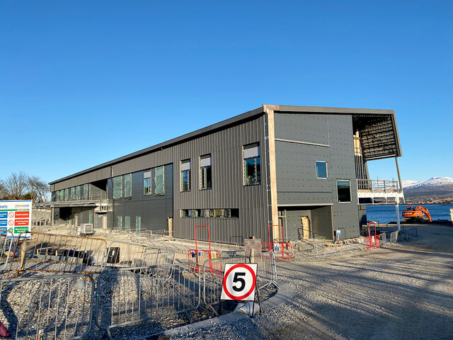 Construction of the new Skye, Lochalsh and South West Ross Community Hospital