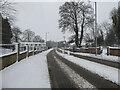 H4672 : Snow, Hospital Road, Omagh by Kenneth  Allen