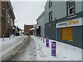H4572 : Snow, Scarffes Entry, Omagh by Kenneth  Allen