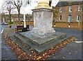 NY6820 : Steps and plinth, High Cross by Adrian Taylor
