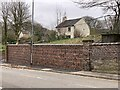 SJ7950 : New churchyard wall in Audley by Jonathan Hutchins
