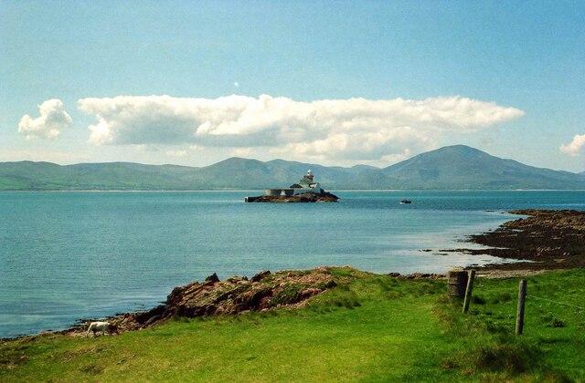 View towards Little Samphire Island - May 1994