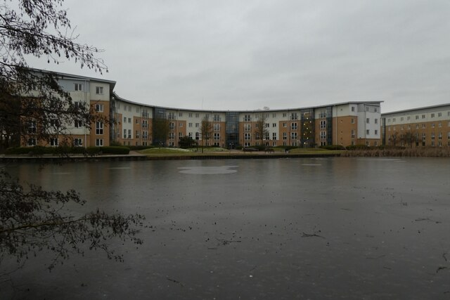Frozen Lake and Wentworth D block