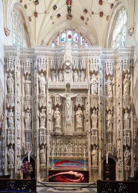 Choir Screen - Christchurch Priory Church