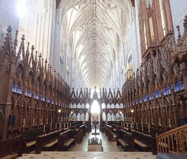 The Choir Christchurch Priory