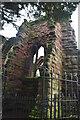 SJ4066 : Church of St John the Baptist ruins by N Chadwick