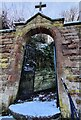 SO8279 : Gate and path to St John The Baptist church, Wolverley by Mat Fascione