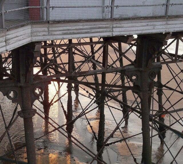Under the North Pier