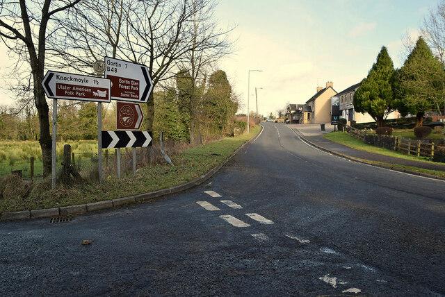 Glenpark Road, Mountjoy Forest East Division