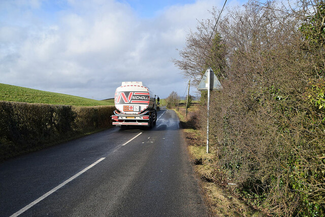 Oil delivery lorry, Mountjoy Forest East Division