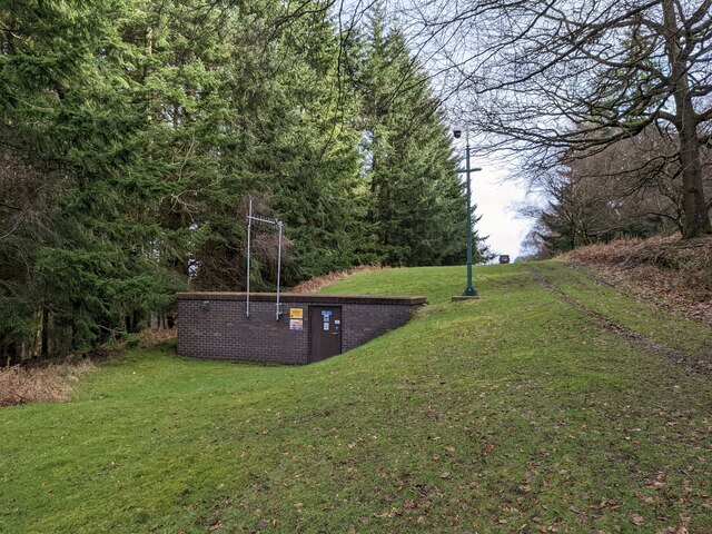Inlet well on the Elan Valley Aqueduct (Bringewood)