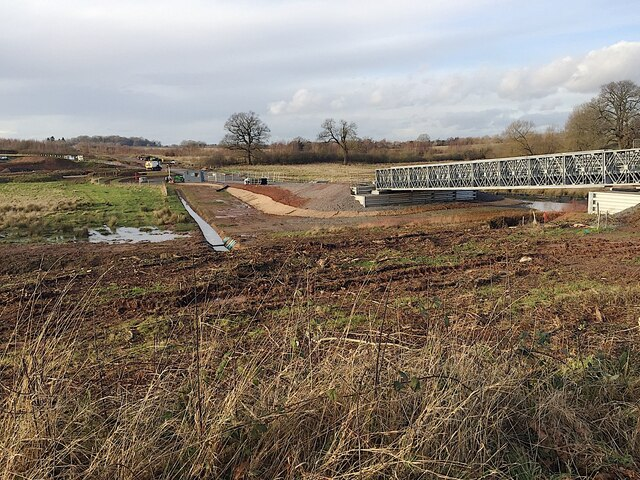 HS2 works at Crackley, January 2021 (3)