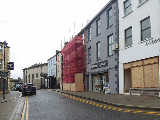 Renovations to premises along George's Street, Omagh