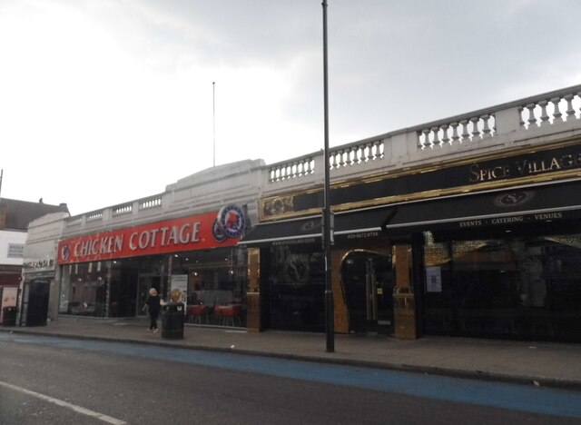 Shops on Upper Tooting Road