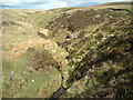 NS7526 : Tributary of Douglas Water on Dovestone Rig by Chris Wimbush