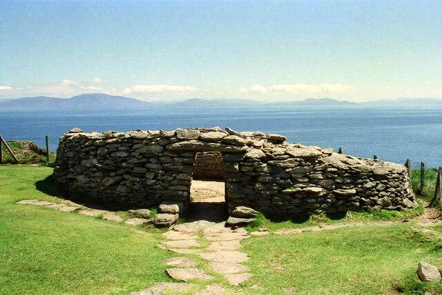Dunbeg Fort overlooking Dingle Bay