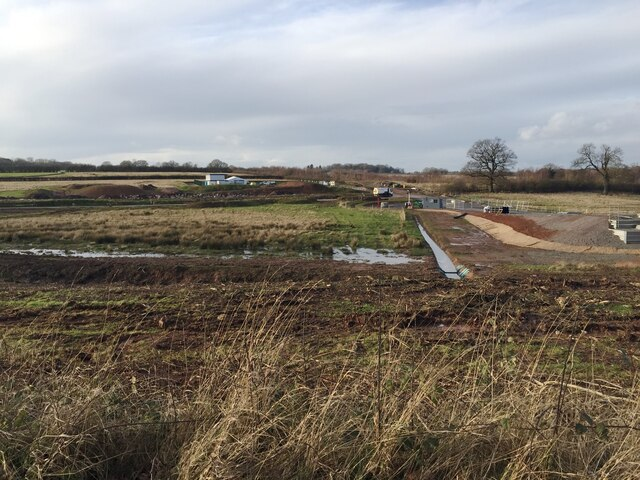 HS2 works at Crackley, January 2021 (4)